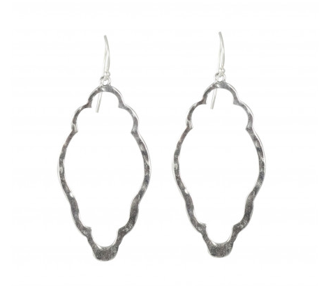 Clover Earrings -Sterling Silver