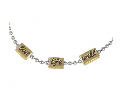 Little Meditations Necklace - Live Life Well