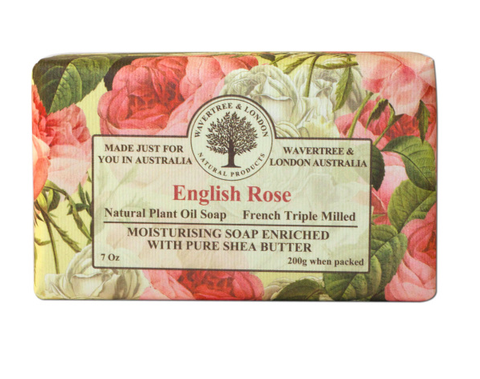 English Rose Shea Butter Soap Bar