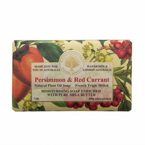 Persimmon & Red Currant Shea Butter Soap Bar
