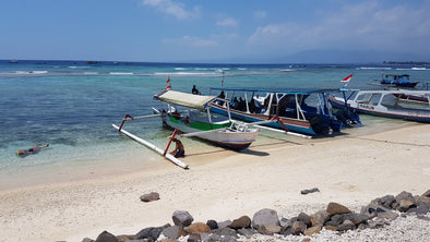 Lunch at Pulau Gili Meno