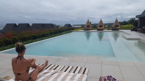 Intercontinental Fiji Club Private Infinity Pool
