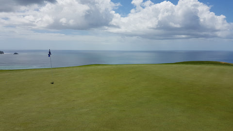 16th green at Kauri Cliffs Golf Course