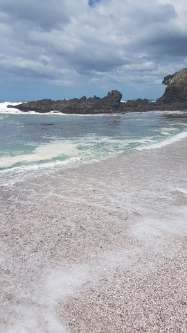 Pink Beach Kauri Cliffs Golf Course New Zealand