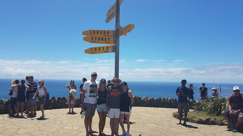Cape Reinga furthest point of New Zealand