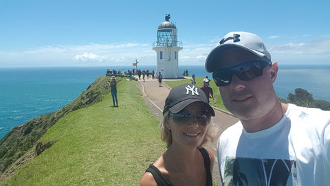 Cape Reinga New Zealand and Lighthouse