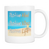 Postive Life Beach Mug, Drinkware - CLICKIT2YOU