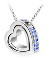 Heart Crystal Necklace!, Necklace - CLICKIT2YOU