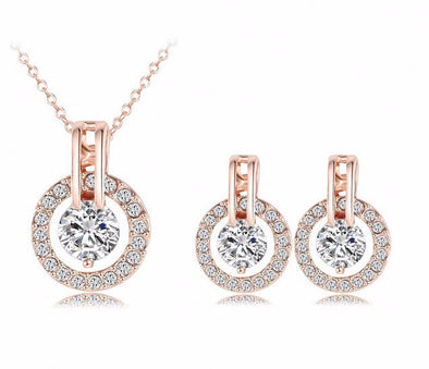 Bijouterie Necklace/Earring Set, Necklace - CLICKIT2YOU