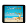 Positive Life Beach - Mouse Pad, Mousepads - CLICKIT2YOU
