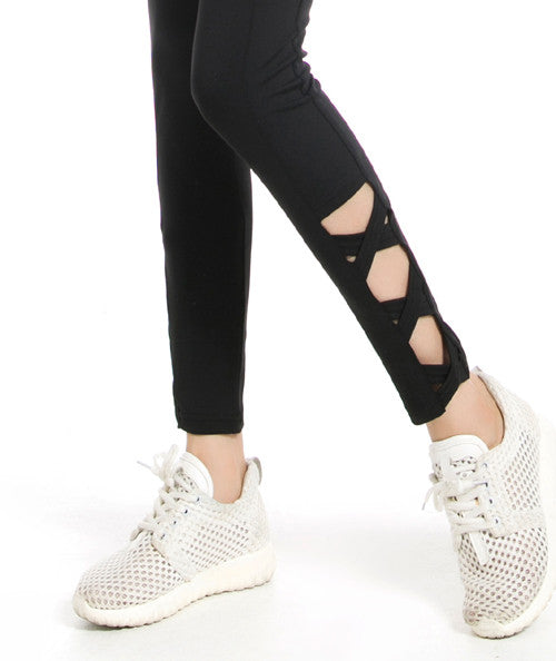Fitness Leggings (Black Only), leggings - CLICKIT2YOU