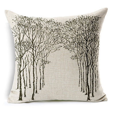 Beautiful Forest Design Cushions, Pillow - CLICKIT2YOU