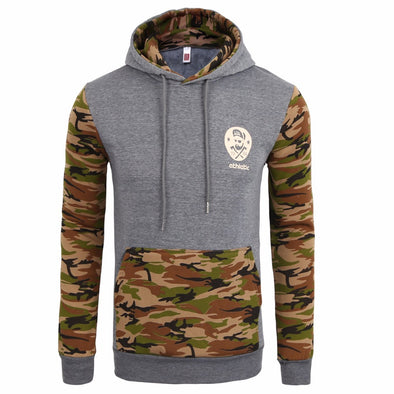 Camouflage Men Hoodies, Hoodies - CLICKIT2YOU
