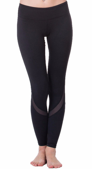 Mesh Yoga Leggings, yoga leggings - CLICKIT2YOU