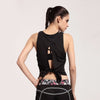 Trendy Back Fitness Top, tshirts - CLICKIT2YOU