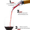 Great Red Wine Aerating Pourer, Wine Pourer - CLICKIT2YOU
