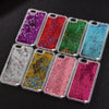 New Fashion iPhone Liquid Glitter Sequins Phone Case, Phone Cover - CLICKIT2YOU