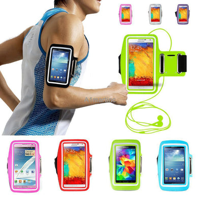Waterproof Arm Band Case For Samsung Phones, Phone Accessories - CLICKIT2YOU