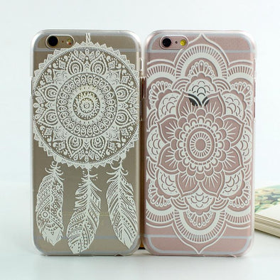 Floral Paisley Mandala iPhone Cover, Phone Cover - CLICKIT2YOU