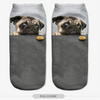 Cute Doggie Ankle Socks, Dog Socks - CLICKIT2YOU