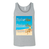 Beach Vibe Unisex Tank, T-shirt - CLICKIT2YOU