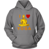 I Love Yoga Unisex Hoodie, T-shirt - CLICKIT2YOU