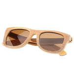 Skateboard Wood Two Tone Sunglasses UV 400 Protection Lens