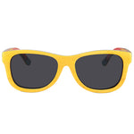 Skateboard Wood Yellow Color Sunglasses UV 400 Protection Lens
