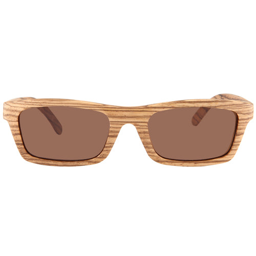 Zebrawood Sunglasses UV 400 Protection Lens