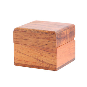 Hand-made Koa Wood Ring Box Gloss Finish