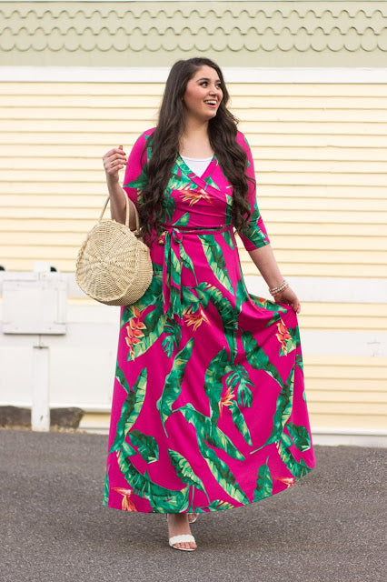 """Spring Leaves Maxi"" Review by Elizabeth Azud"
