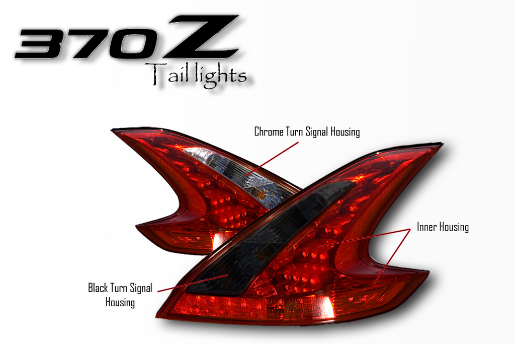 370z Custom Tail Lights Set Yunique L E D Amp Retrofits