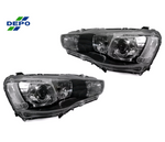 08-15 Mitsubishi Evolution X - Custom Headlights Automobile Headlights - Custom Headlights Yunique L.E.D - Yunique L.E.D