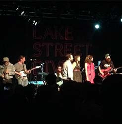 The Congress performing with Lake Street Dive