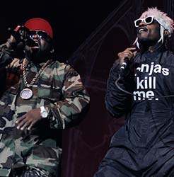 Big Boi and Andre 3000 at Outkast ATLast