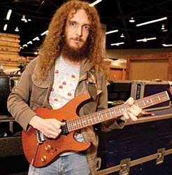 "UK Guitar Magazine's ""Guitarist of the Year"", electric guitarist Guthrie Govan to play jazz fusion"