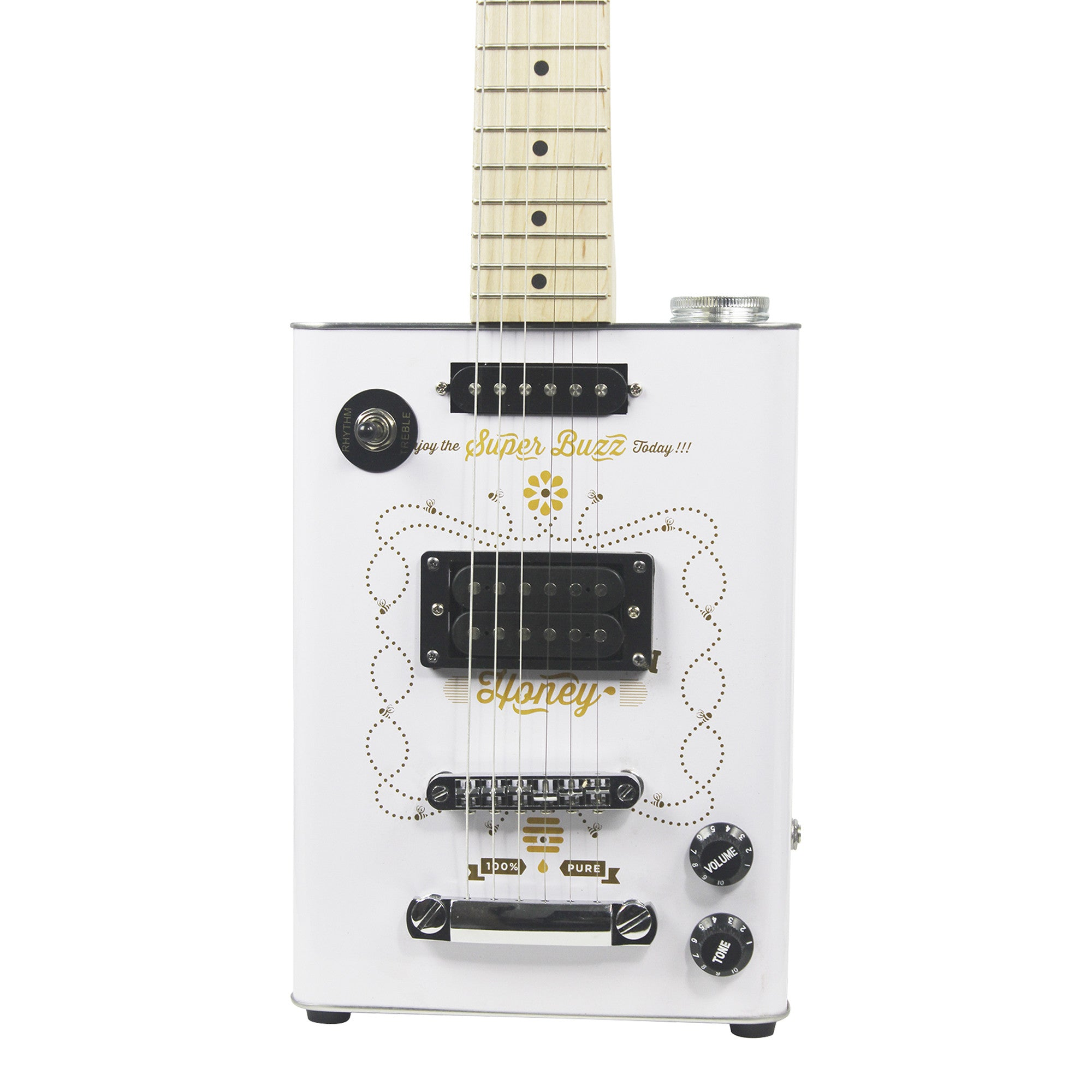 Bohemian Guitars - Honey - Electric Guitar - 1 Humbucker Pickup 1 Single Coil Pickup-guitar-Bohemian Guitars