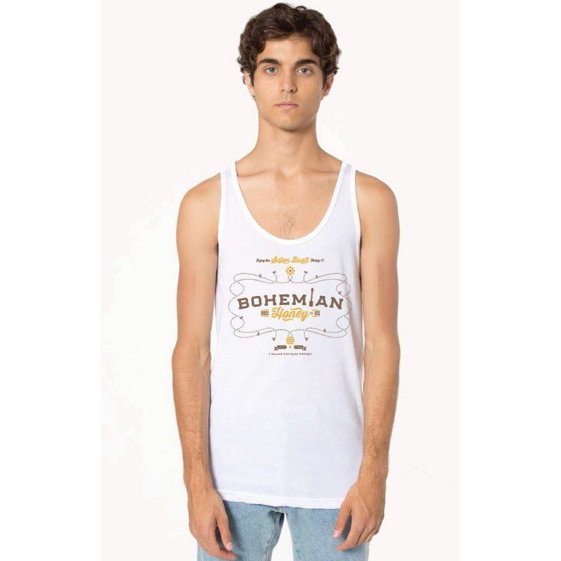 Bohemian Honey - Unisex Tank - White