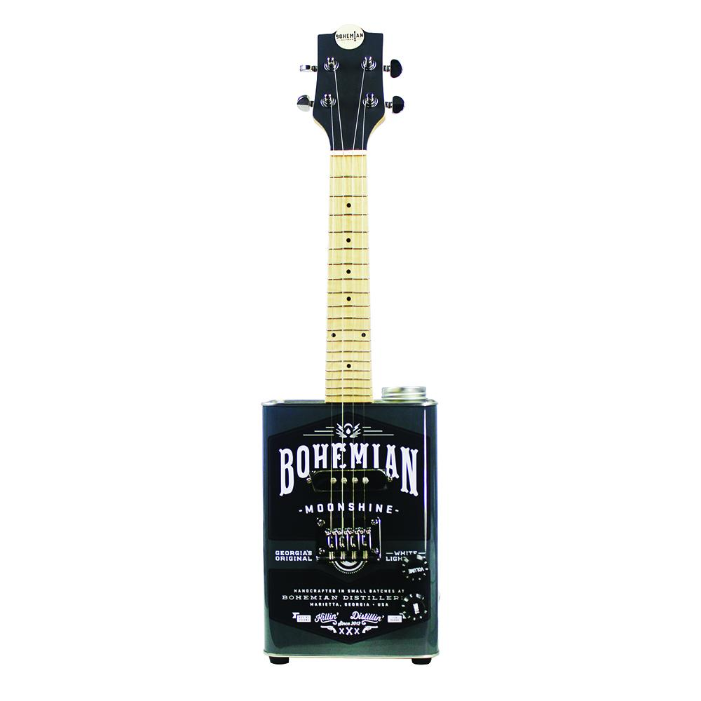 Bohemian Moonshine - Electric Soprano Ukulele - Premier Guitar Exclusive