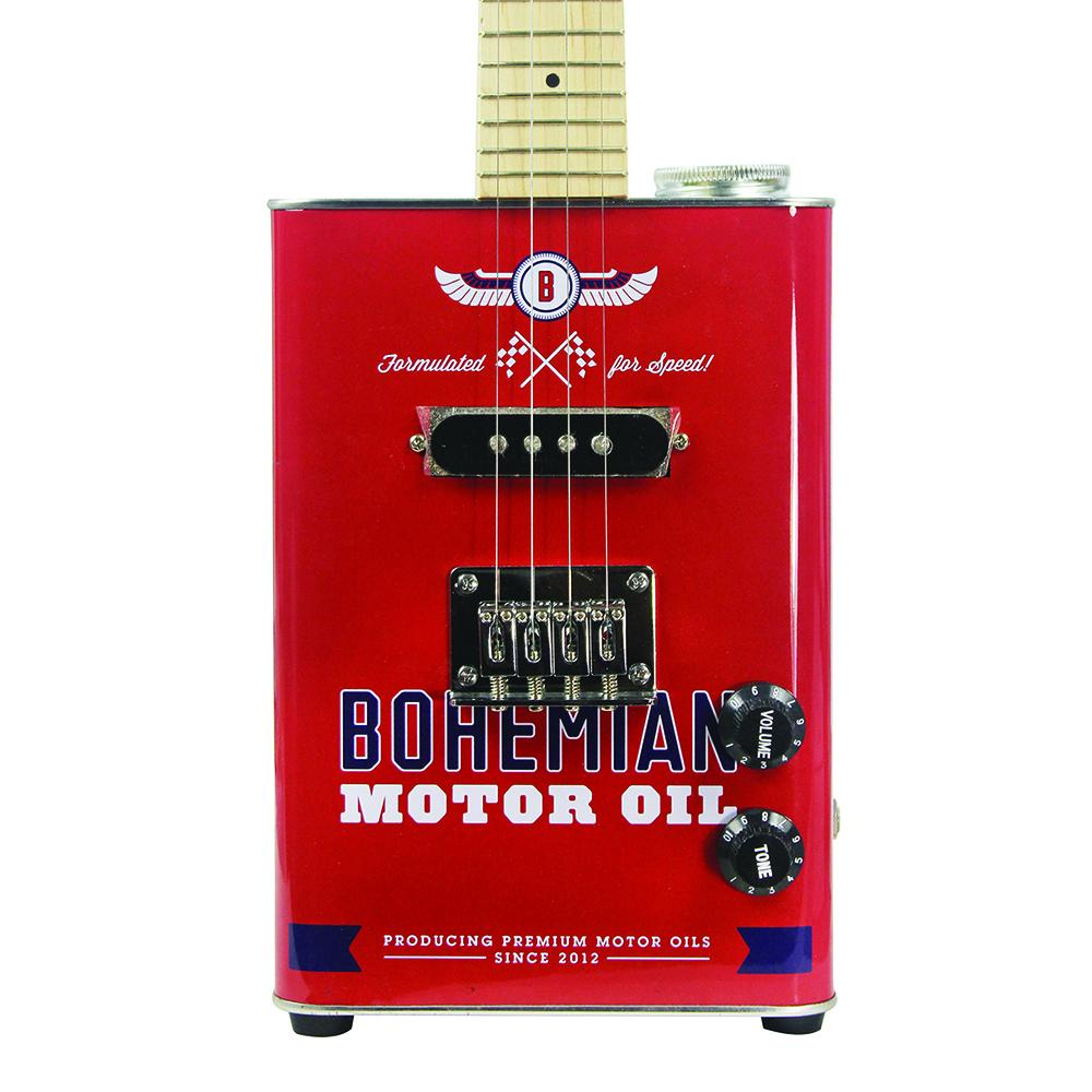 Bohemian Motor Oil - Electric Soprano Ukulele - Premier Guitar Exclusive