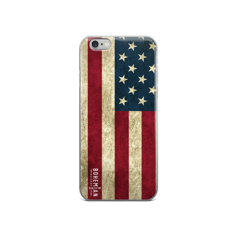 Cell Phone Case - IPhone Case 6 & 6s - Vintage Americana