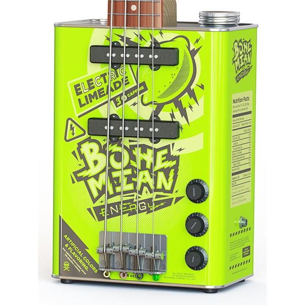Guitar - Bohemian Limeade - Electric Bass -  2x Single Coil