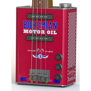 Bohemian Motor Oil - Electric Bass - 2x Single Coil-guitar-Bohemian Guitars
