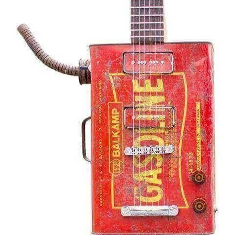 Guitar - Gasoline - Electric Guitar -  2 X P90