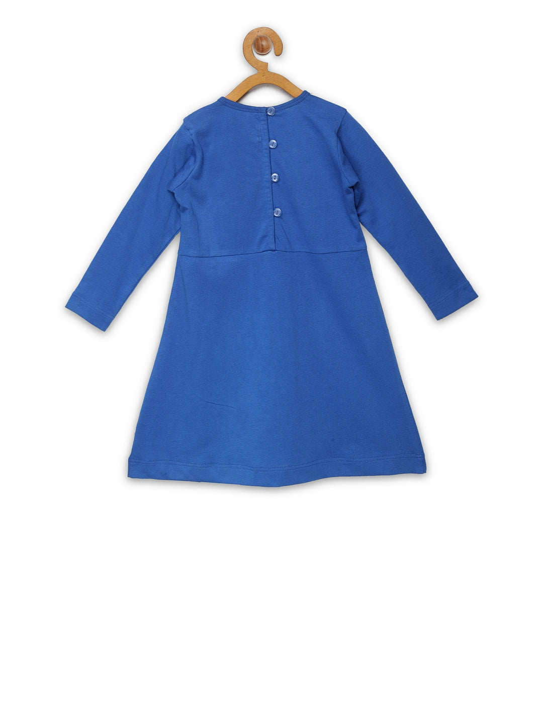 Blue Box Pleat Frock