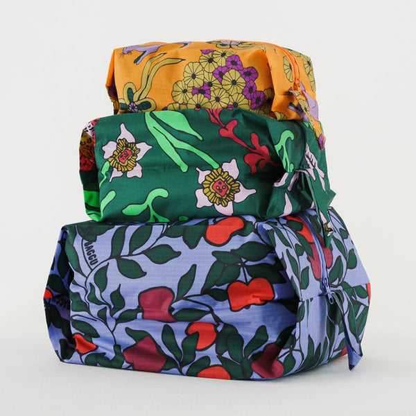 3D Zip Set - Floral Forest