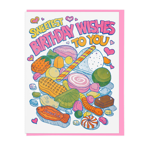 Sweetest Birthday Candy Card
