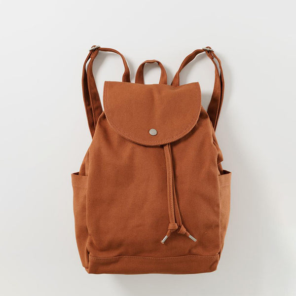 Drawstring Backpack - Umber
