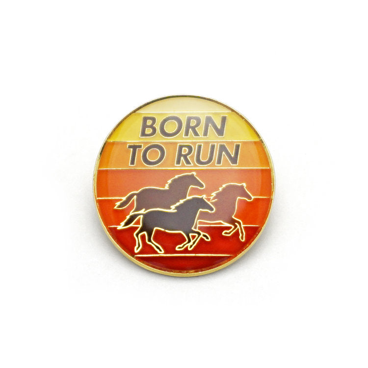 Born To Run Enamel Pin