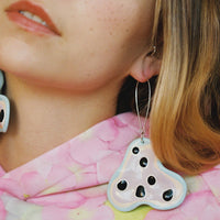 Fritter Earrings - Forget Me Nots